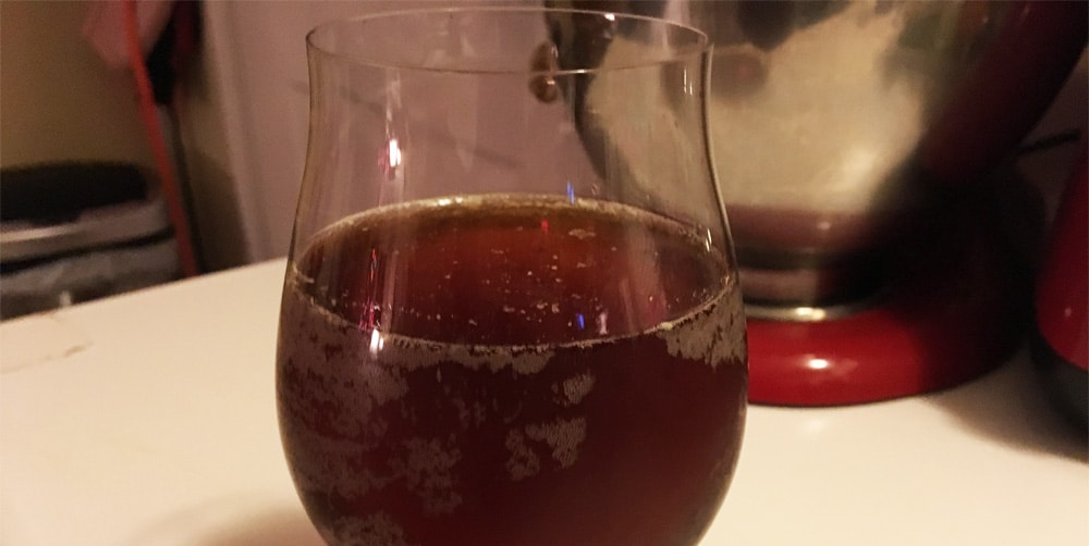 finished sour brown ale