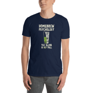 homebrew psychology t-shirt navy